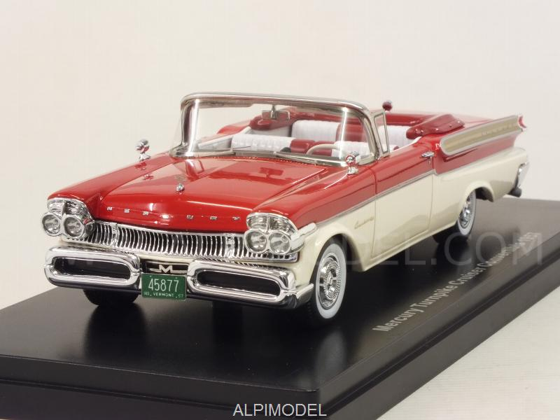 Mercury Turnpike Cruiser Convertible 1957 (Red/White) by neo