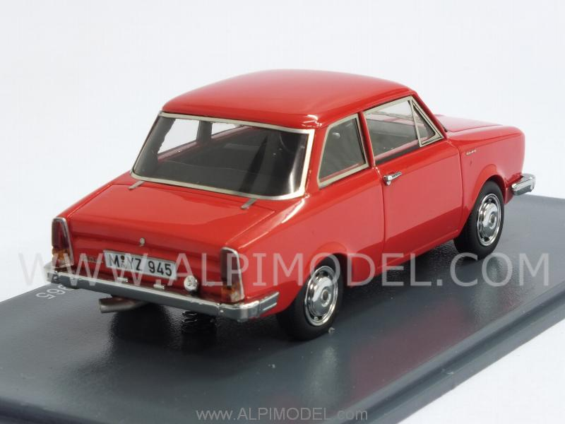 neo 45945 glas 1304 ts limousine 1965 red 1 43. Black Bedroom Furniture Sets. Home Design Ideas