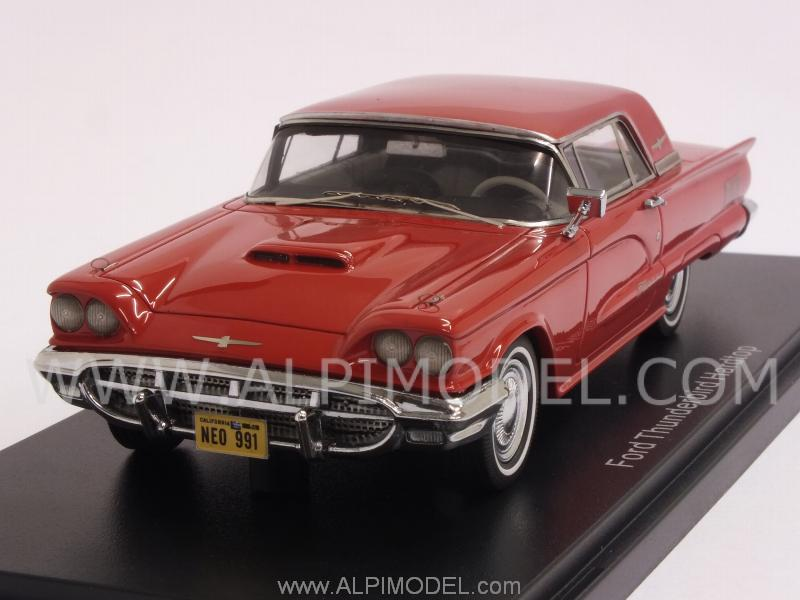 Neo Ford Thunderbird Hard Top 1960 Red 1 43 Scale Model
