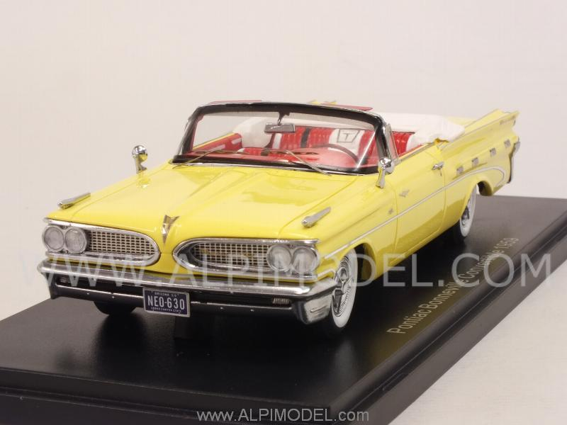 Pontiac Bonneville Convertible 1959 (Light Yellow) by neo