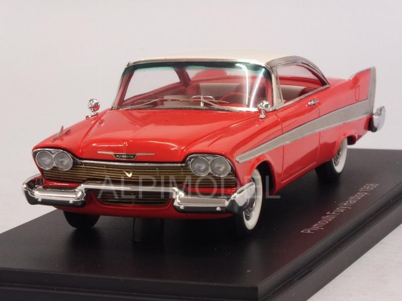Plymouth Fury Hard Top 1958 (Red) by neo