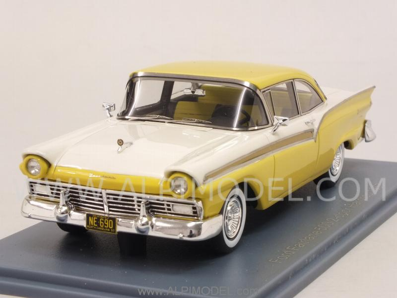 Ford Fairlane 500 Hardtop Coupe Yellow White By Neo