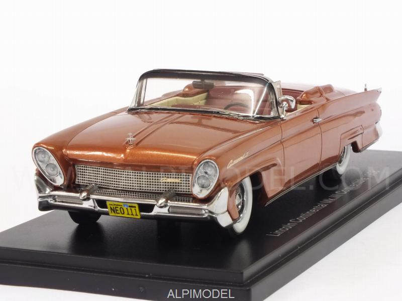 Lincoln Continental MkIII Convertible 1958 (Copper Metallic) by neo