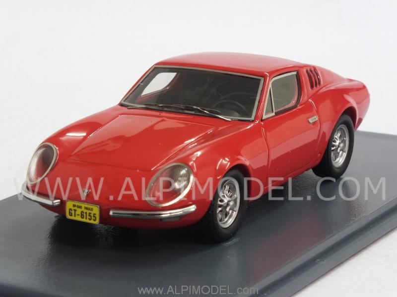 Puma GT Coupe 1968 (VW Do Brasil) (Red) by neo