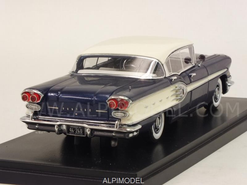 Neo Pontiac Star Chief 4 Door Sedan 1958 Dark Blue White