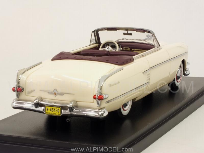 Packard Pacific Convertible 1954 (Beige/Dark Red) - neo