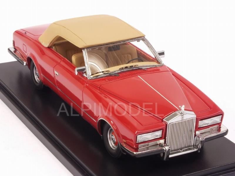 Rolls Royce Phantom VI Frua Drophead Coupe 1971 (Red) - neo
