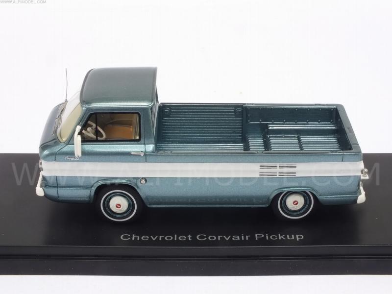 1:43 Neo Chevrolet Corvair Pickup turquoisemetallic//white