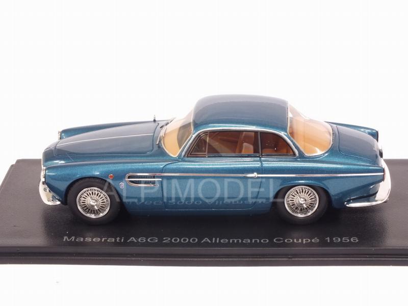 metallic-dunkeltürkis 1956 NEO 1:43 46562 *NEW* Maserati A6G2000 Allemano
