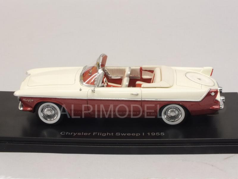 Chrysler Flight Sweep I 1955 (White/Red) - neo