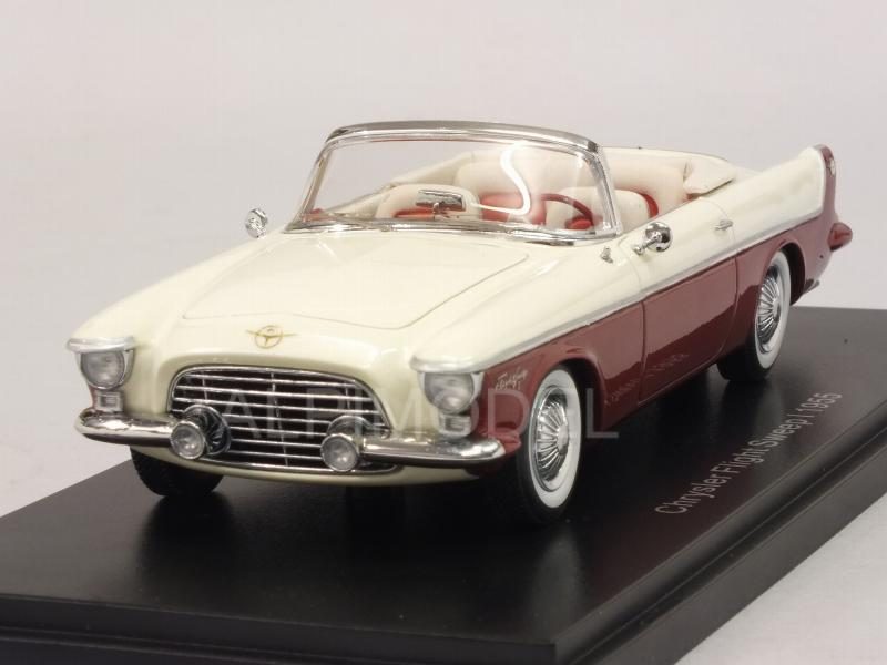 Chrysler Flight Sweep I 1955 (White/Red) by neo