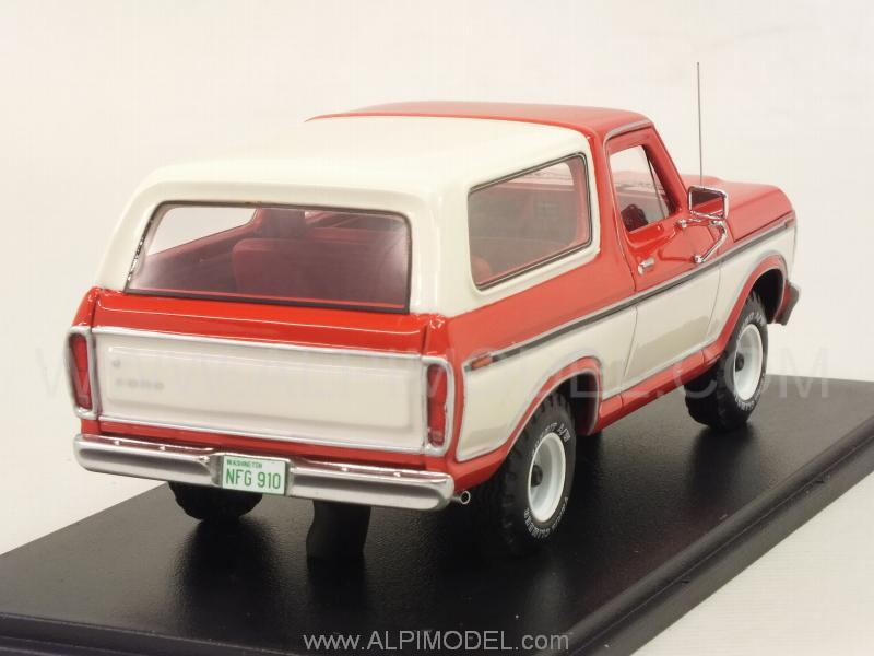 Ford Bronco 1978 (Red/White) - neo