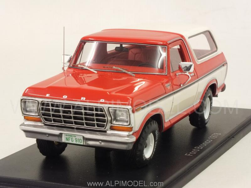 Ford Bronco 1978 (Red/White) by neo