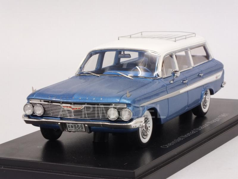 Chevrolet Nomad Station Wagon 1961 (Metallic blue) by neo