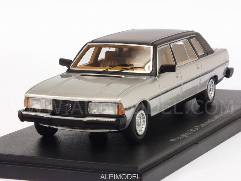Peugeot 604 Heuliez Limousine 1978 (Silver) by neo