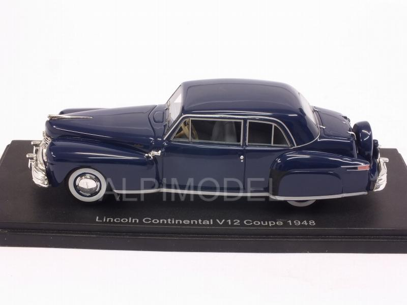 Lincoln Continental V12 Coupe 1948 (Dark Blue) - neo
