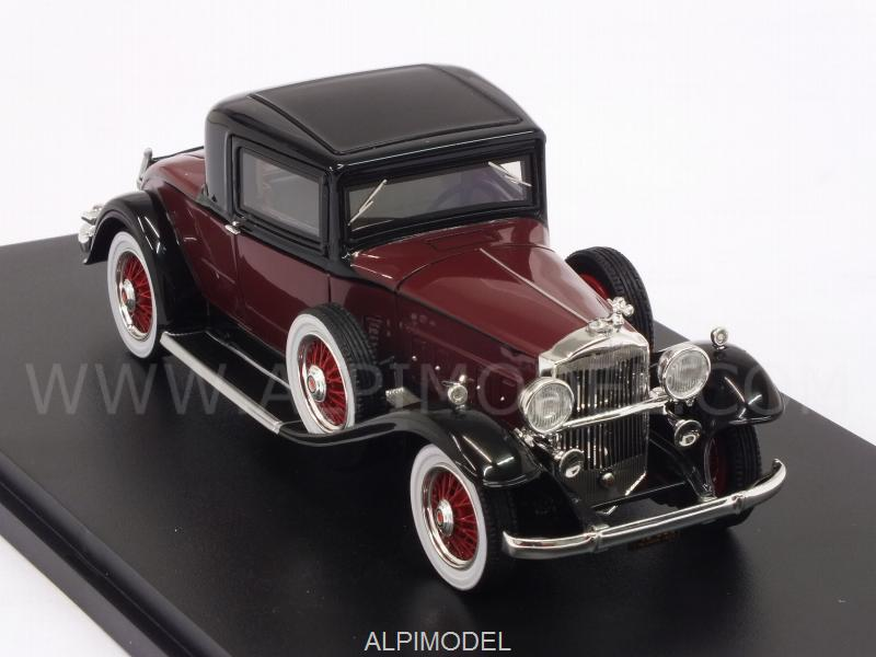 Packard 902 Standard Eight Coupe 1932 (Dark Red/Black) - neo