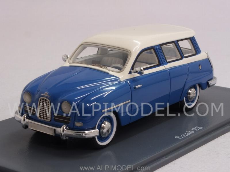 Saab 95 Kombi 1959 (Blue/White) by neo