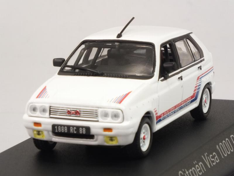 Citroen Visa 1000 Pistes 1983 (White) by norev