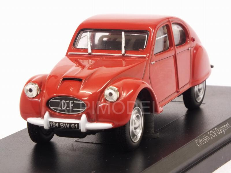 Citroen 2CV Dagonet 1956 (Red) by norev