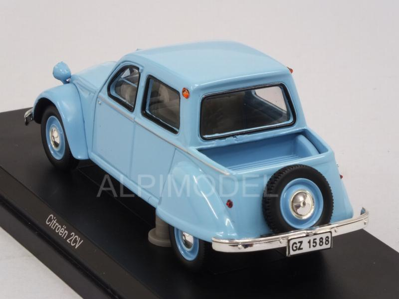 Citroen 2CV Citroneta 1963 (Light Blue) - norev