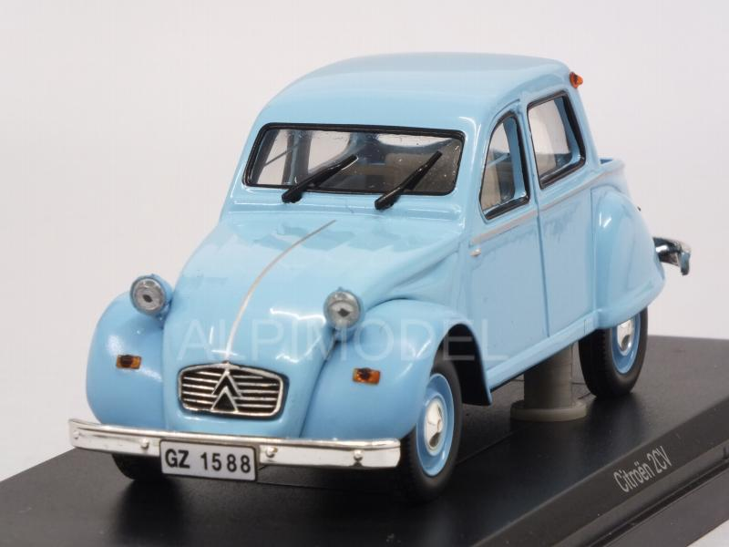 Citroen 2CV Citroneta 1963 (Light Blue) by norev
