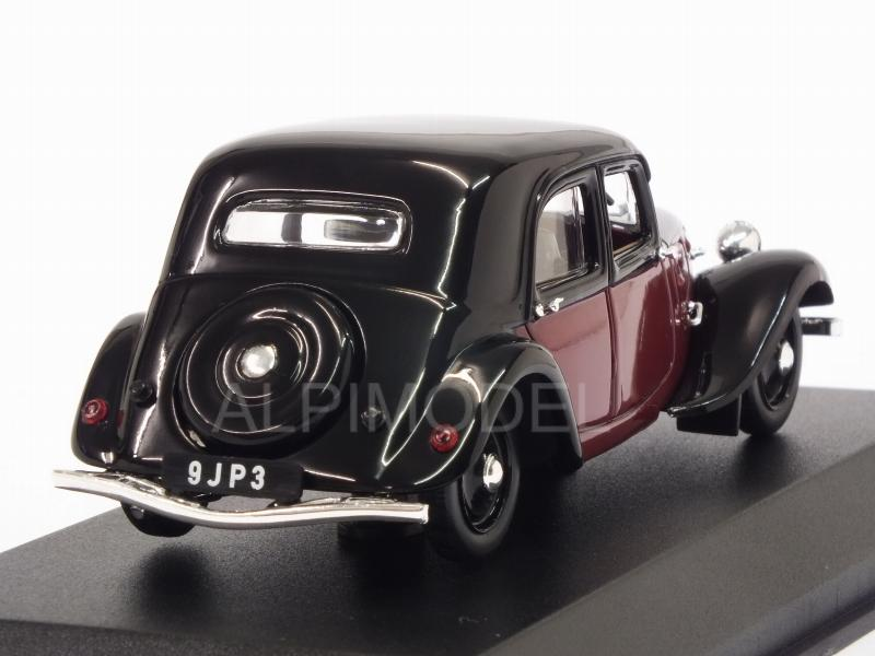 Citroen 11 Legere Coupe De Ville 1935 (Dark Red/Black) - norev