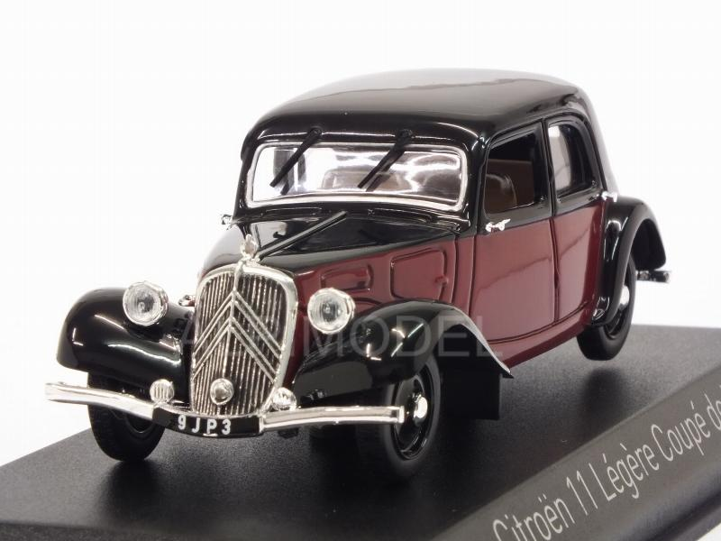 Citroen 11 Legere Coupe De Ville 1935 (Dark Red/Black) by norev