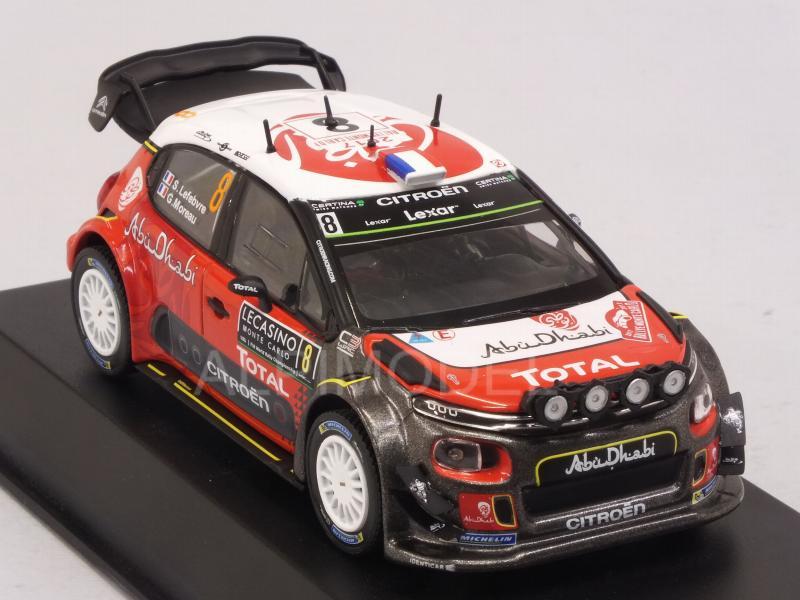 Moreau 1:43 Norev 155362 Rallye Monte Carlo 2017  Lefebvre Citroen C3 WRC
