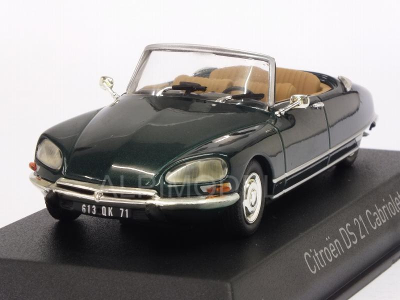 Citroen DS 21 Cabriolet 1971 (Forest Green) by norev