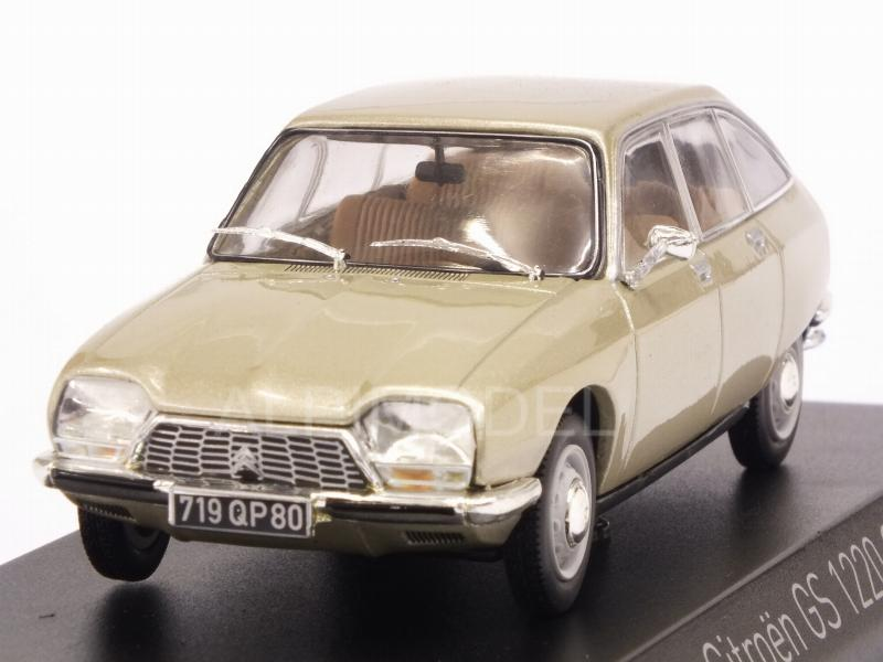 Citroen GS 1220 Club 1973 (Tholonet Beige Metallic) by norev