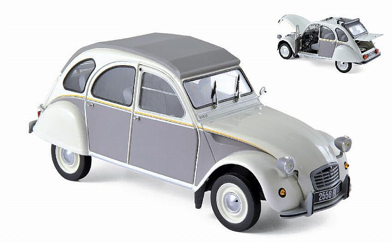 Citroen 2CV Dolly 1985 (White/Grey) by norev