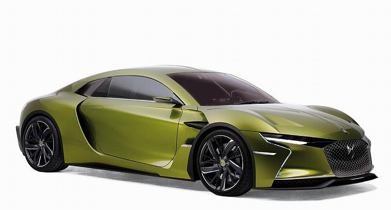 Citroen DS E-Tense Salon De Geneve 2016 (Metallic Green) by norev