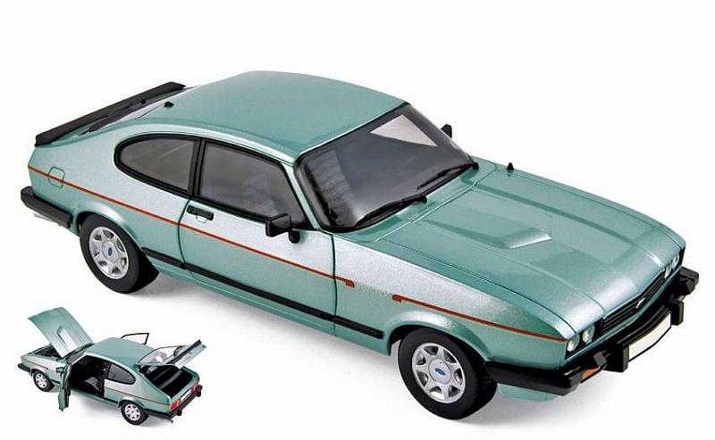 Ford Capri MkIII 2.8 Injection 1982 (Crystal Green Metallic) by norev