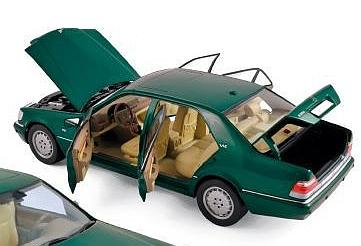 Mercedes S600 1997 (Green Metallic) - norev
