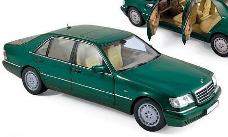 Mercedes S600 1997 (Green Metallic) by norev