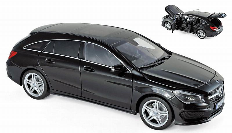 Mercedes CLA Shooting Brake 2015 (Black) by norev