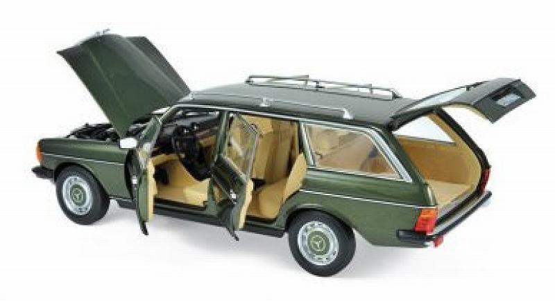 greenmet. NOREV 1:18 Mercedes 200 T S123 1980