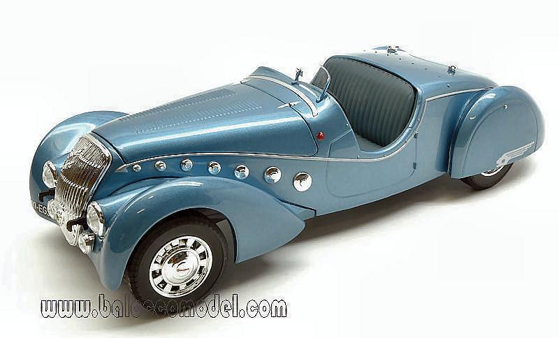 1937 PEUGEOT 302 DARL MAT ROADSTER BLUE METALLIC 1//18 MODEL CAR BY NOREV 184821