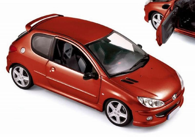 Peugeot 206 RC 2003 (Red) by norev