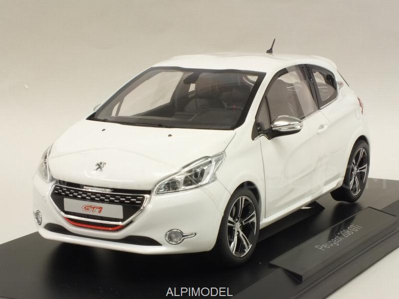 Peugeot 208 GTI 2013 (Pearl White) by norev