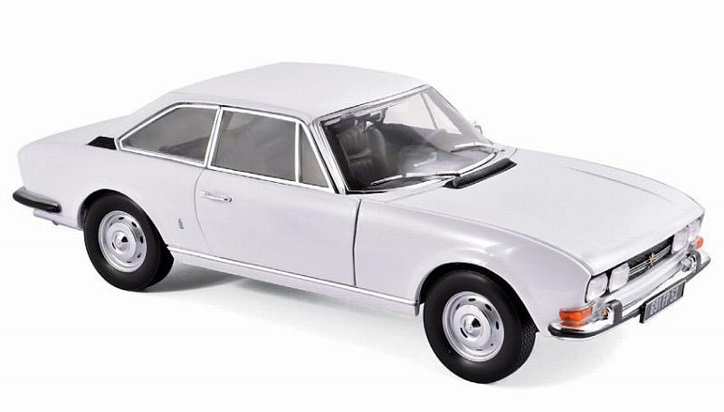 Peugeot 504 Coupe'1969 (Arosa White) by norev
