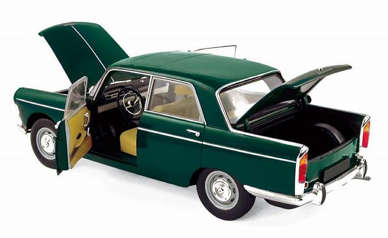 Peugeot 404 1965 (Antique Green) by norev