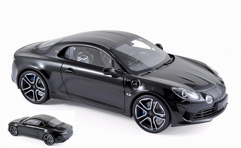 Alpine A110 Premiere Edition 2017 (Black) by norev
