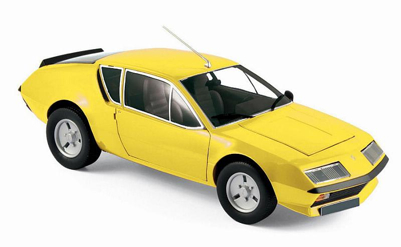 Yellow Norev 185143 Renault Alpine A310 1977