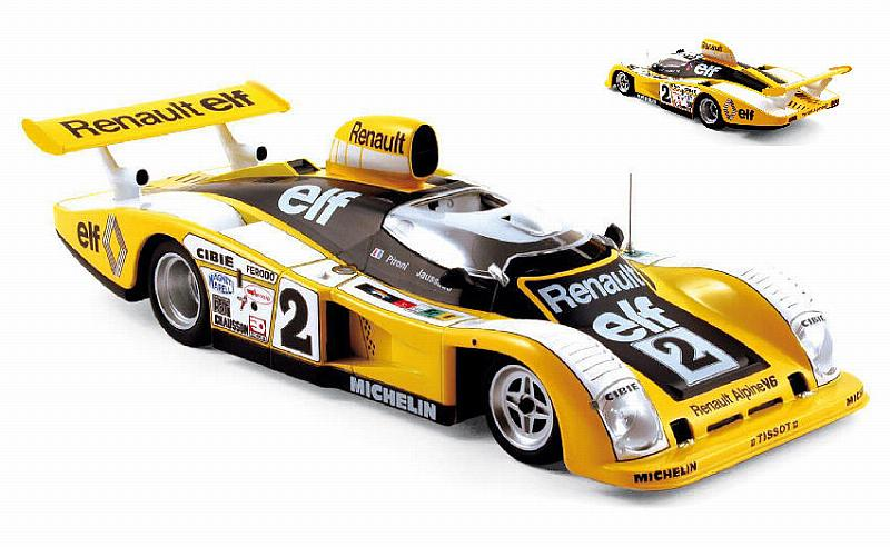 Alpine A442 Renault #2 Winner Le Mans 1978 Pironi - Jaussaud by norev