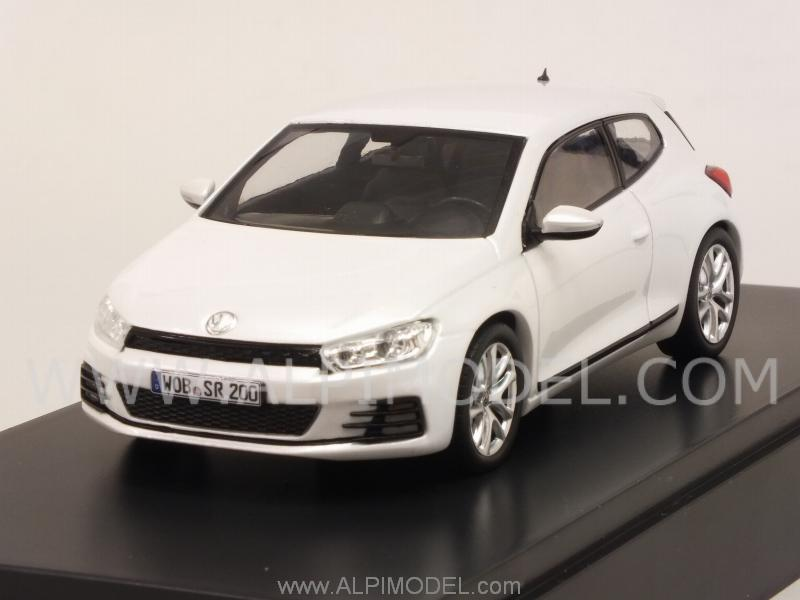 Volkswagen Scirocco (Metallic White)  VW promo by norev