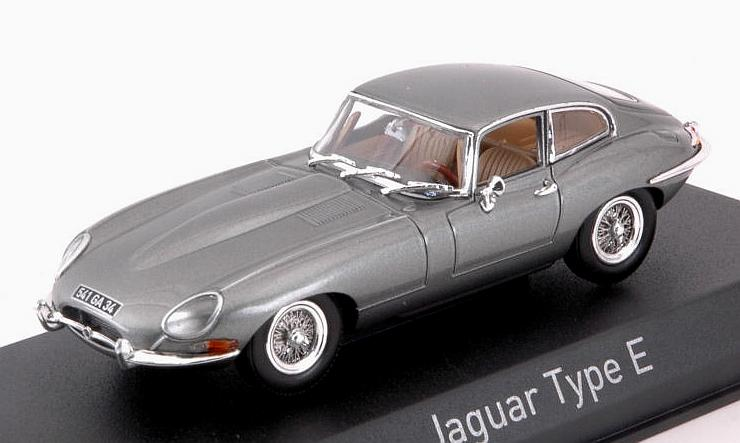 Jaguar E-Type Coupe 1961 (Grey) by norev