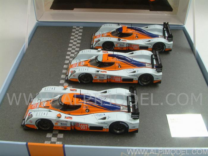 norev lola aston martin lmp1 le mans 2009 3 cars set gift box 1 43 scale model. Black Bedroom Furniture Sets. Home Design Ideas