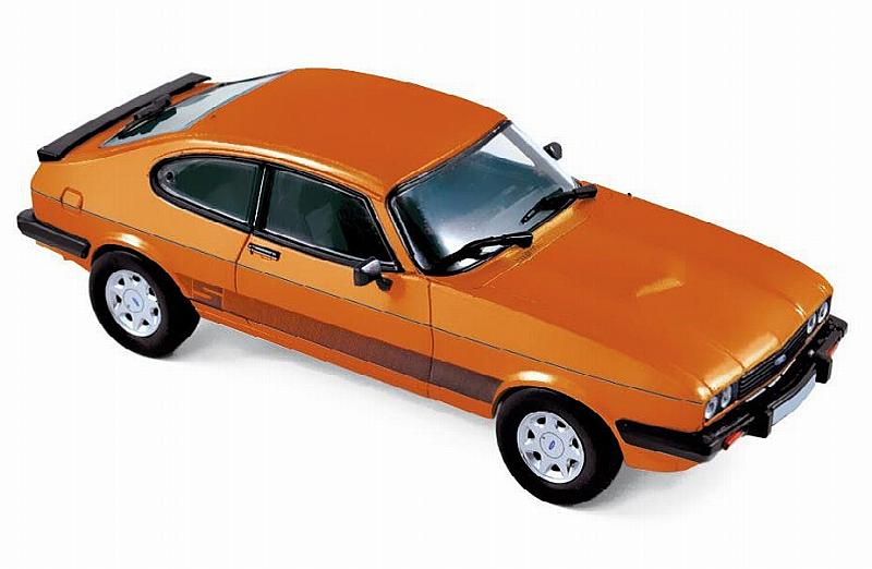 Ford Capri S 1986 (Orange) by norev